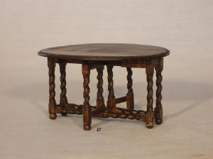 27. Drop Leaf Table